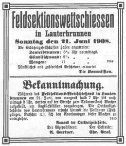 200 Jahre Feldschützen Lauterbrunnen